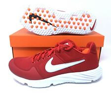 4c616eb0602e7 Nike Huarache Elite 2 Turf Red White Mens Baseball Softball Shoes Size 8.5