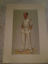 VANITY FAIR PRINT CRICKET PLUM MR PELHAM F WARNER