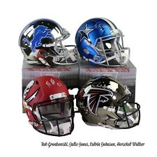 HOU TEXANS HitParade Autographed FS Football DIAMOND Helmet 1box Live Break B