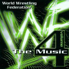 World Wrestling Federation-The Music 4 (1999) Chris Jericho, Big Show, Ma.. [CD]