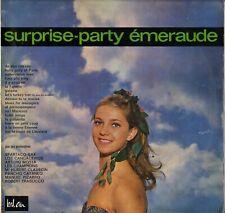"""COMPILATION """"SURPRISE PARTY EMERAUDE"""" POP LATIN 60'S LP BEL AIR 421.082"""
