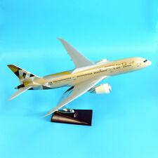 New Etihad 1:162 Fibreglass Resin Boeing 787 Aircraft Plane Model 44cm Large