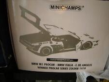 1:18 Minichamps BMW M1 Procar BMW Italia E.De Angelis Winner Series Zolder 1979