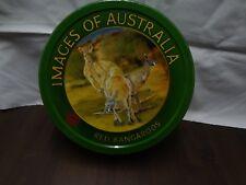 Vintage Carters Biscuit Tin - Images of Australia - RED KANGAROOS