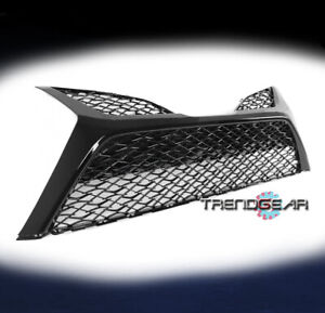 For 2018-2020 Toyota Camry SE XSE Front Bumper Center Lower Grille Glossy Black