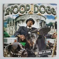 SNOOP DOGG : SNOOP WORLD / STILL A G THANG ♦ CD Single Promo ♦