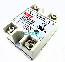 10PCS Solid State Relay SSR-25DA 25A /250V 3-32V DC Input 24-380VAC Output NEW
