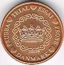 Denmark 2002 (Gr) probe-pattern-essai - 2 eurocent - Kroon