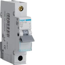 HAGER CONSUMER UNIT SP MCB CIRCUIT BREAKER MTN132 32A 32 AMP