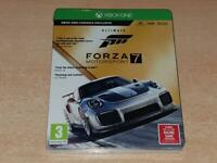 Forza Motorsport 7 Xbox One Steelbook Ultimate Edition **BRAND NEW & SEALED**