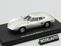 Autocult 1:43 Chevrolet Corvair Monza GT Prototype,silver, USA,1963 L.E. 333 pcs