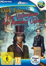 DARK TALES * DER UNTERGANG DES HAUSES USHER * WIMMELBILD-SPIEL  PC DVD-ROM