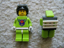 LEGO MBA Master Builder Academy - Rare - Level One Minifig w/ Jetpack Excellent