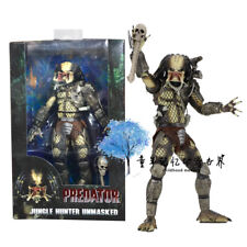 NECA Predator 30th Anniversary Jungle Hunter Unmasked Figura de acción Juguete