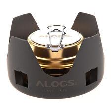 ALOCS Portable Mini Ultra-light Spirit Burner Alcohol Stove Outdoor CX