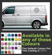 VW LOGO LARGE for CADDY, TRANSPOret Etc. premium Decals/Stickers x 1