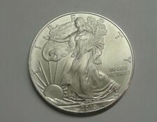 2010 American Eagle One Dollar 1 ounce .999 Fine Silver Coin - NO RESERVE