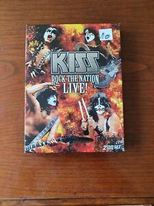 Kiss, Rock the Nation Live, 2 DVD-Box, guter Zustand