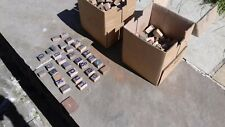 Adana Printing Blocks Wooden Dozens Of  Large Lettters and  Numbers