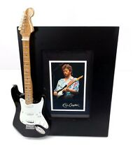 Eric Clapton Miniature Guitar Picture Frame Rock & Roll Collectible