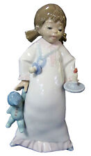 """Lladro Figurine """"Time for Bed"""" Item #06440"""
