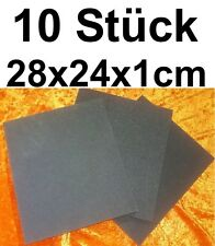 10x Schaumstoffmatte Dämmmatte Dämmung Schaumstoff Schutz Verpackung Polsterung