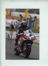 Frankie Chili Honda World Superbikes Signed Photograph 1