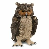 Melissa and Doug Plush Owl - 18264 - NEW!