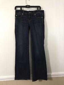 American Eagle Dark Wash Super Stretch Slim Boot Jeans Size 10