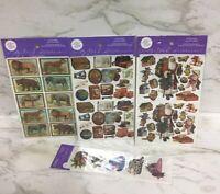 Vintage Stickers Lot Of 4 Packs Gifted Line John Grossman Stickers VTG