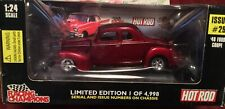 limited edition  #1 of 4998 produced  the 1940 Ford Coupe 1:24