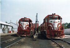 TP&W #2005/2008 Peorial Illinois Sept 1983 ORIGINAL PHOTO-Railroad