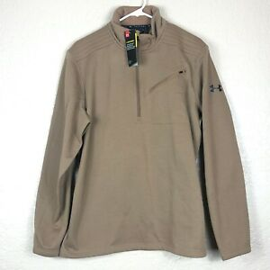 Under Armour 1343351 Men's UA tactical 1/2 Zip Storm Long Sleeve LARGE sweater