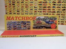 Matchbox Superfast Product/ Display SPECIAL EDITION 13 in X 4 in