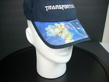 NEW Hasbro TRANSFORMERS Hat Cap Holographic Blue Autobot Adjustable Authentic