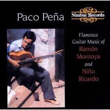Paco Pe a, Paco Peña - Flamenco Guitar Music of Montoya & Ricardo [New CD]