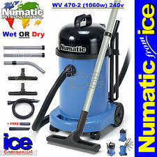 Numatic Trade Professional Charles Wet & Dry Hoover Vacuum Cleaner WV470-2 230V