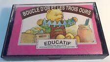 BOUCLE D'OR ET LES TROIS OURS Tape Cassette LIVRE CASSETTE