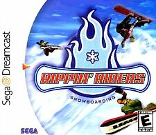 Rippin' Riders Snowboarding NEW factory sealed Sega Dreamcast