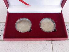 c1885 & 1887 US Morgan Dollar (With Free Coin Capsule & Box), 2pcs