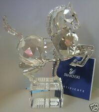 SWAROVSKI SILVER CRYSTAL   CHINESE ZODIAC HORSE   995744  MINT IN BOX