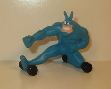 "1995 The Tick on Wheels 2.5"" PVC Plastic Action Figure"