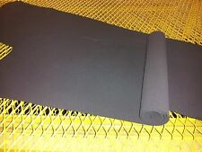 BLACK  FOAM RUBBER SHEETS (2 Pack)  2 MM THICK 12
