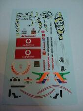 LEWIS HAMILTON 2011 MCLAREN F1 + SINGAPORE DECALS FIGURE SCALA 1/18