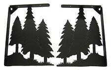 Trees Forest Shelf Bracket Set