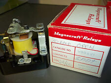 Magnecraft W99AX1 Relay SPDT 25 Amp Coil 24 VAC 50/60 Hz New Old Stock