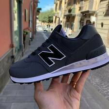New Balance 574 Scarpe Sneakers Sportive Casual pelle total Grey inverno 2020