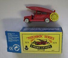 Matchbox Originals #9 Dennis Fire Engine Regular Wheel reissue European Box
