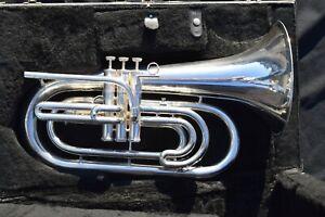 Kanstul USA Bb Marching Baritone, Silver Finish, Model 290  #7