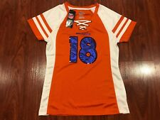 Majestic Women's Peyton Manning Denver Broncos Draft Him NFL Jersey Small S